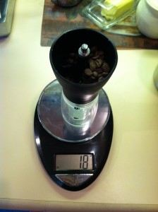 18 Grams of Coffee