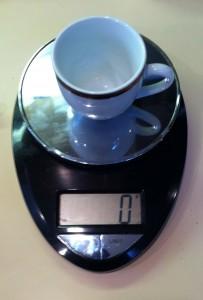 Tared Espresso Cup
