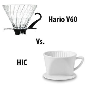 Coffeemaker Showdown 002: Hario V60 vs. HIC 3-hole Dripper
