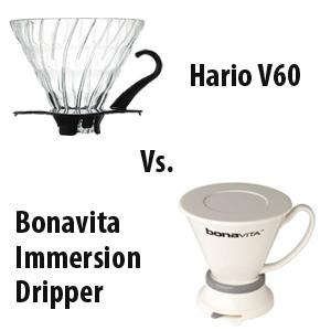 Hario V60 vs. Bonavita Immersion Dripper