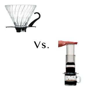 Coffee Experiment: Hario V60 vs. AeroPress