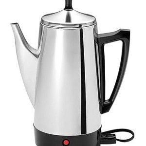 Coffee Maker Review: Presto 02811 12-Cup Stainless Steel Percolator