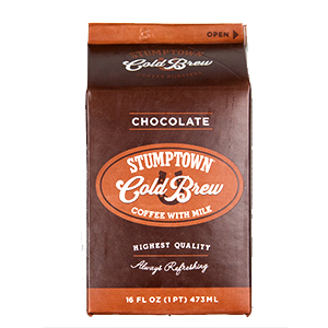 Cold Brew Coffee Review: Stumptown Cold Brew Coffee with Chocolate