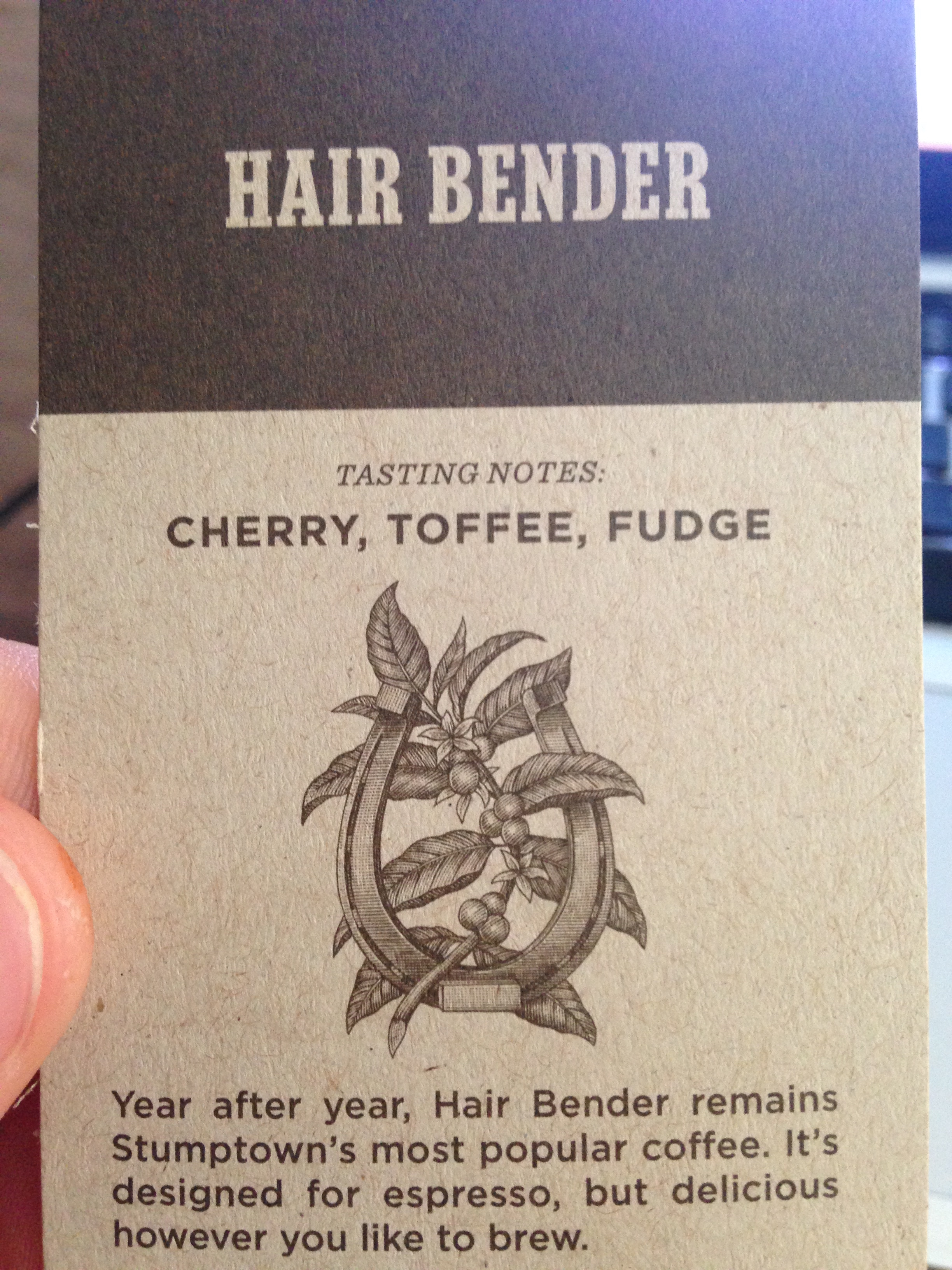 Coffee Review Stumptown Hair Bender