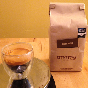 Coffee Review: Stumptown House Blend