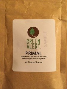 Coffee/Tea Review: Green Alert