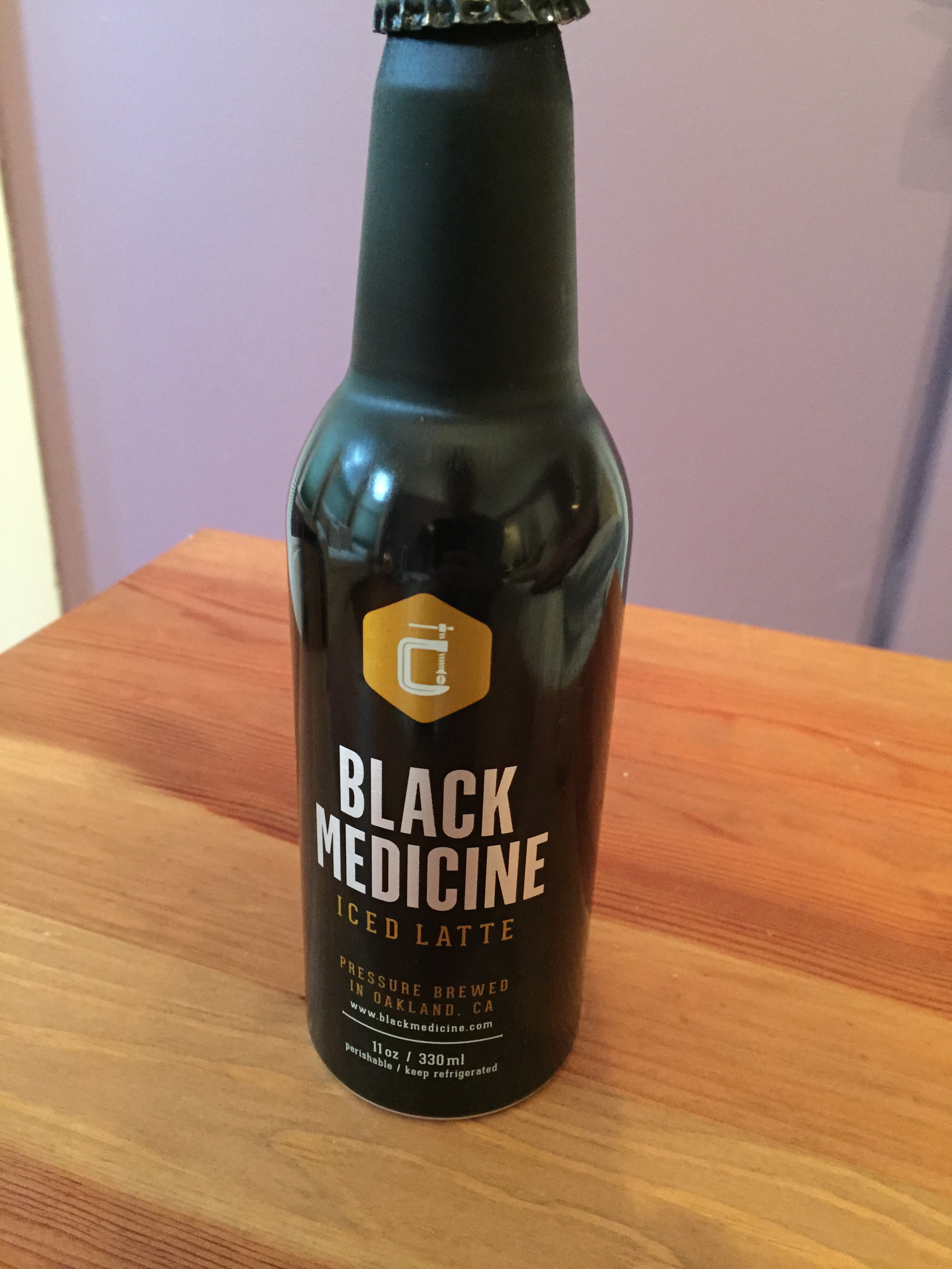Black Medicine Iced Latte