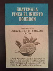 About Guatemala Finca El Injerto Bourbon