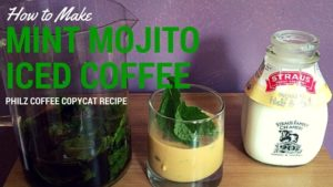 Mint Mojito Iced Coffee Recipe