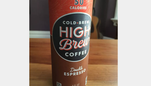 Cold Brew Coffee Review: High Brew Double Espresso