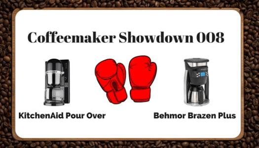 Coffeemaker Showdown 008: KitchenAid Pour Over vs. Behmor Brazen Plus