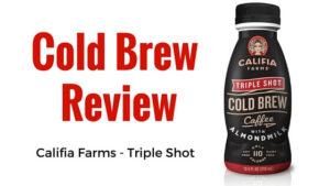Califia Farms Triple Shot Cold Brew