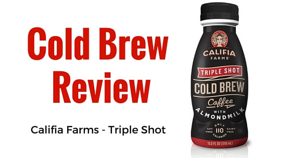 Califia Farms Triple Shot Cold Brew