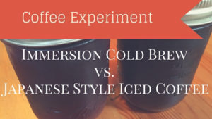 Cold Brew vs. Japanese Iced Coffee