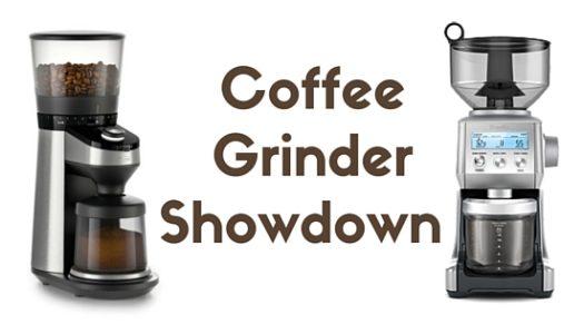Coffee Grinder Showdown 001: OXO On Barista Brain vs. Breville Smart Grinder Pro