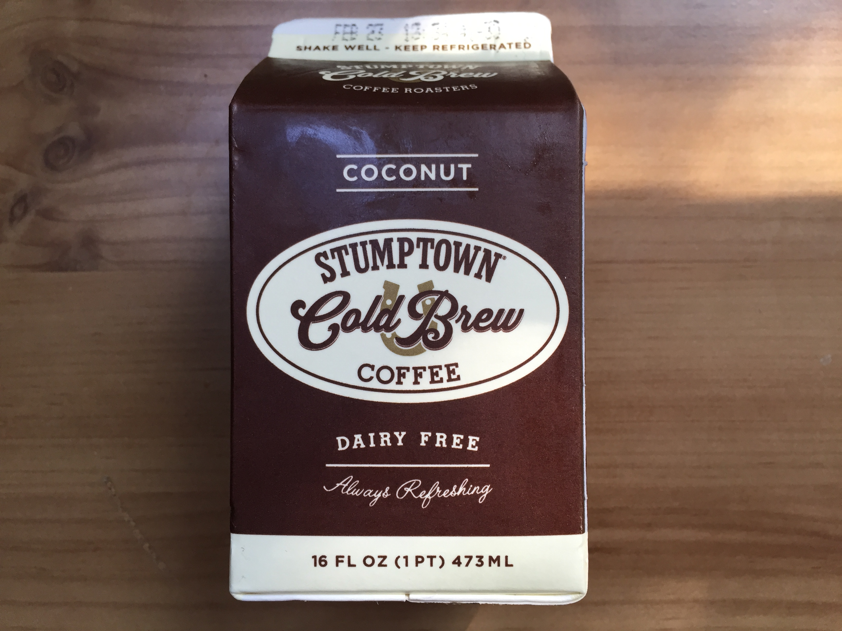 Stumptown Coconut Cold Brew