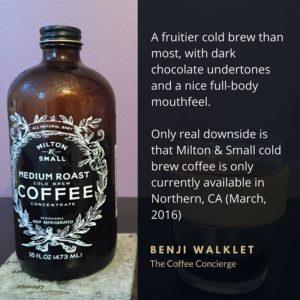 Milton & Small Medium Roast