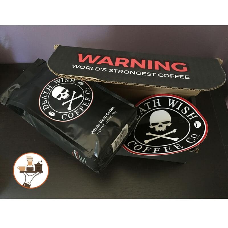 Death Wish Coffee Packaging