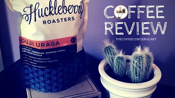 Huckleberry Roasters Guji Uraga