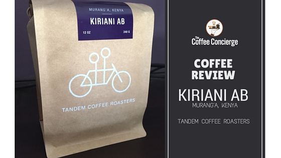 Tandem Coffee Kiriani AB