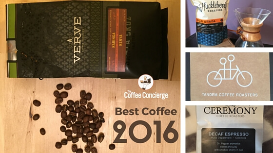 Best Coffee 2016