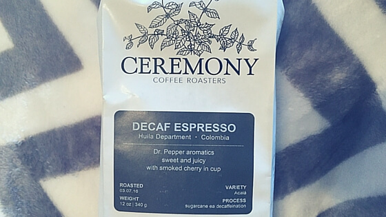 Ceremony Coffee Colombia Decaf