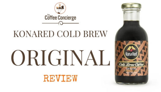 KonaRed Original Cold Brew Coffee Review