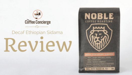 Noble Coffee Roasting – Decaf Ethiopian Sidama