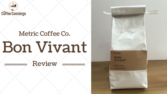 Metric Cofffee Co Bon Vivant