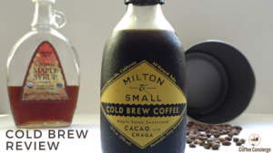 Milton & Small Maple Syrup Cold Brew