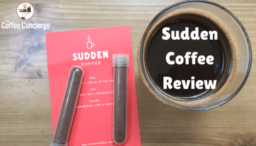 Sudden Coffee Review: Instant Specialty Coffee