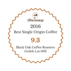 Best Single Origin 2016