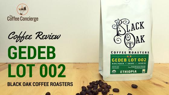 Black Oak Coffee Roasters Gedeb Lot 002