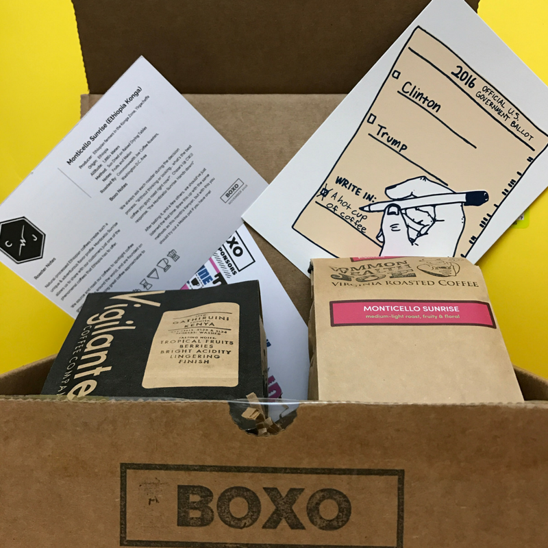 Boxo Coffee Subscription