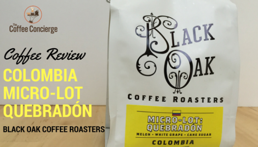Black Oak Coffee Roasters – Colombia Quebradón