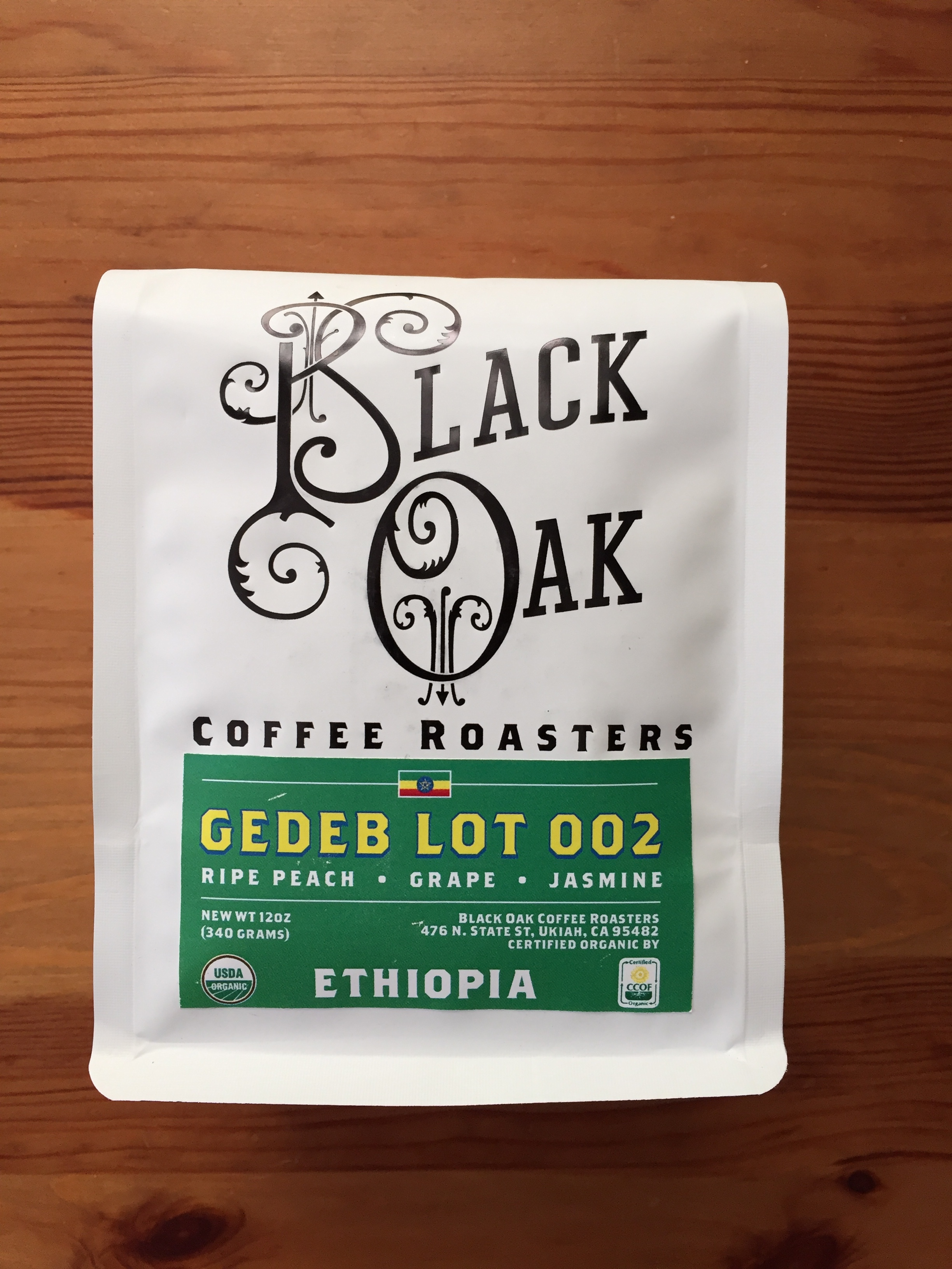 Black Oak Coffee Roasters - Ethiopia Gedeb Lot 002