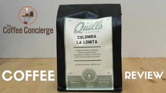 Quills Coffee Colombia La Lomita