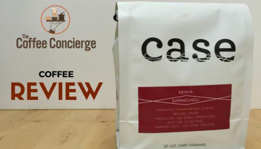 Case Coffee Roasters – Kenya Karindudu Coffee Review