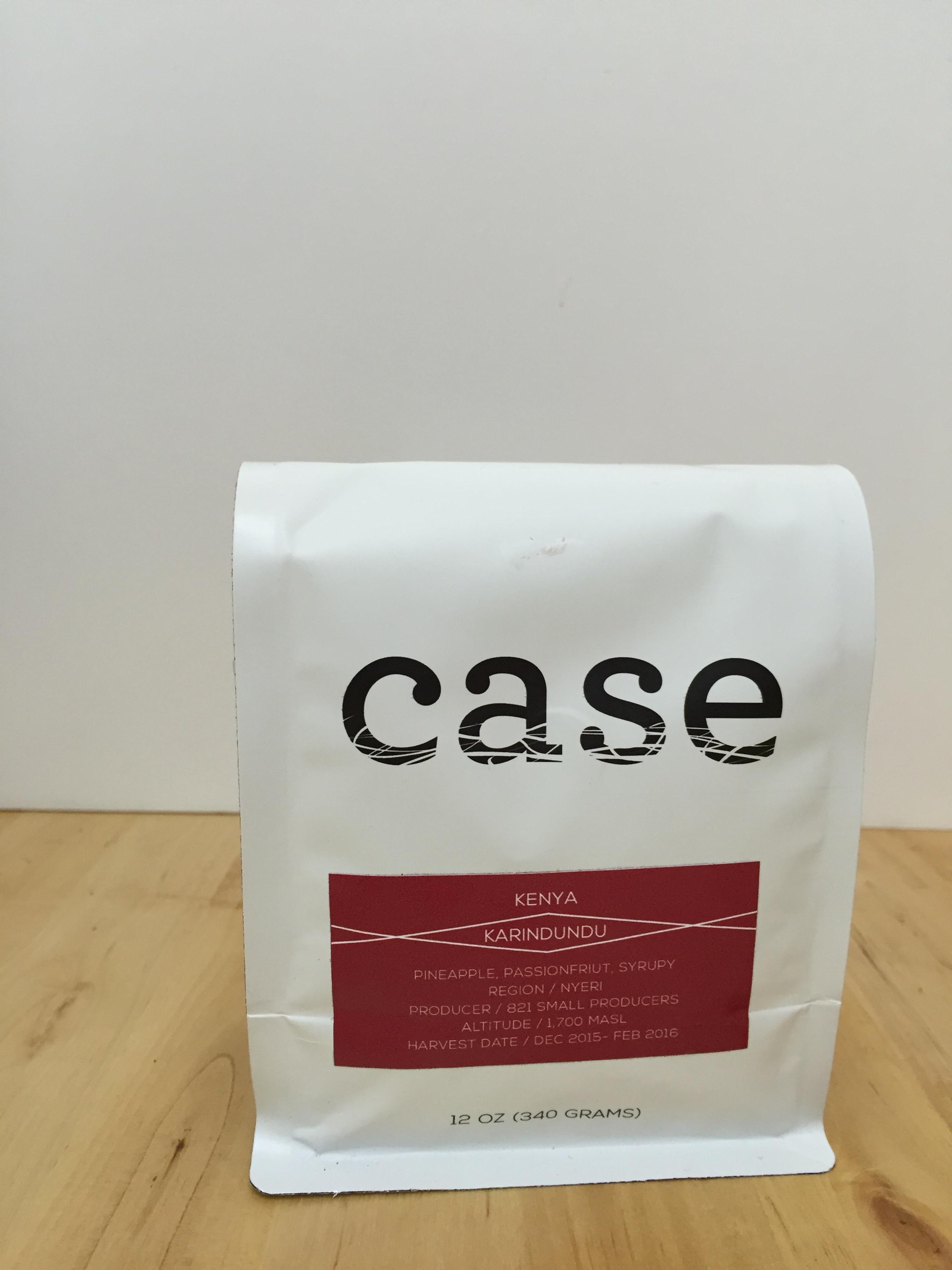 Case Coffee Roasters - Kenya Karindudu