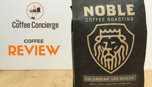 Noble Coffee Roasting – Colombia Los Vascos Coffee Review