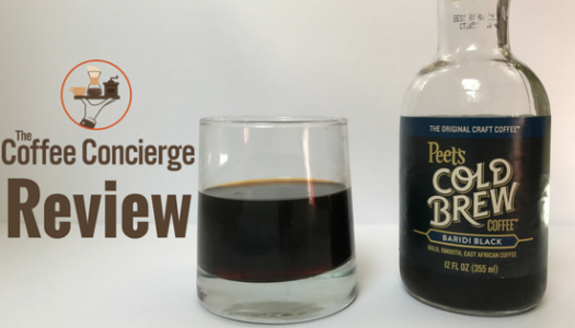 Peet's Coffee – Baridi Black Cold Brew Coffee Review