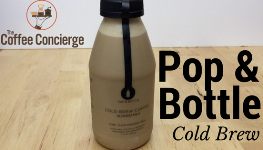 Pop & Bottle – Almond Milk Cold Brew Review