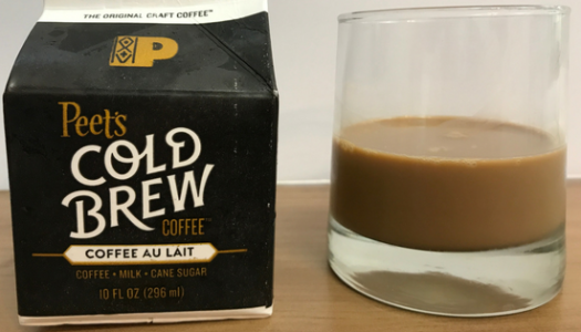 Peet's Coffee – Coffee Au Lait Cold Brew Review