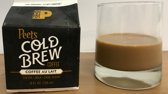 Peet's Cafe Au Lait Cold Brew Review