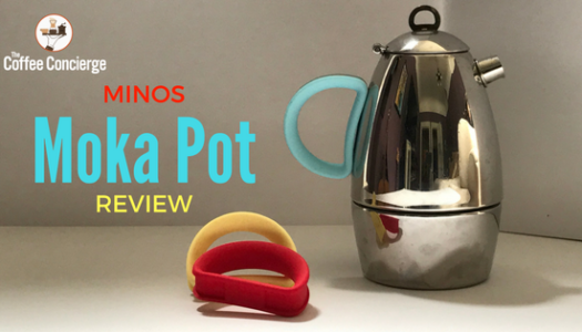 Minos Moka Pot Coffee Maker Review