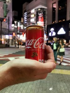 Coke Coffee Plus in Shibuya