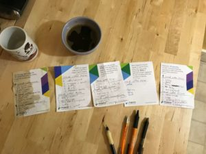 Our notes from the cupping