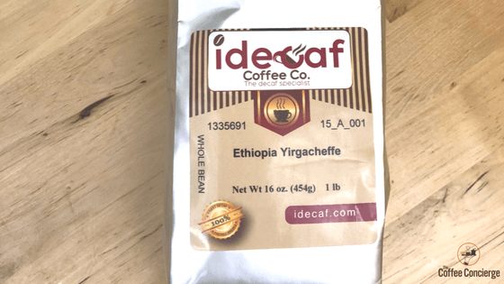 iDecaf Ethiopian Longberry Coffee Review