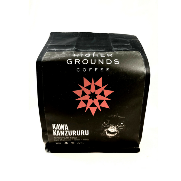 Higher Grounds Coffee - Congo Kawa Kanzururu