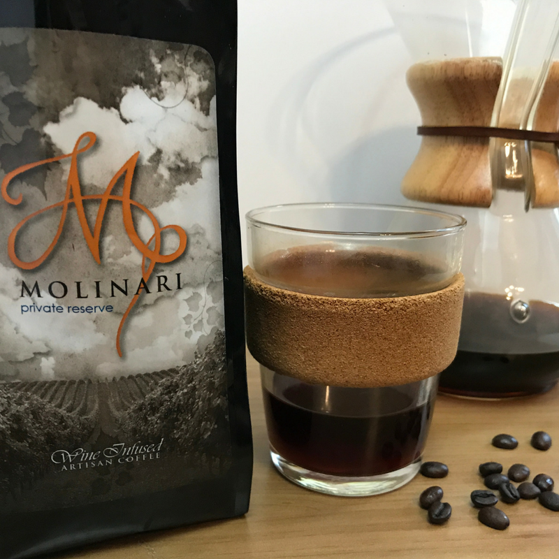 Molinari Private Reserve - Wine Infused Coffee